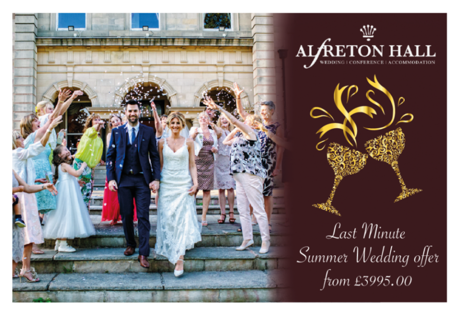 Last minute summer wedding offer