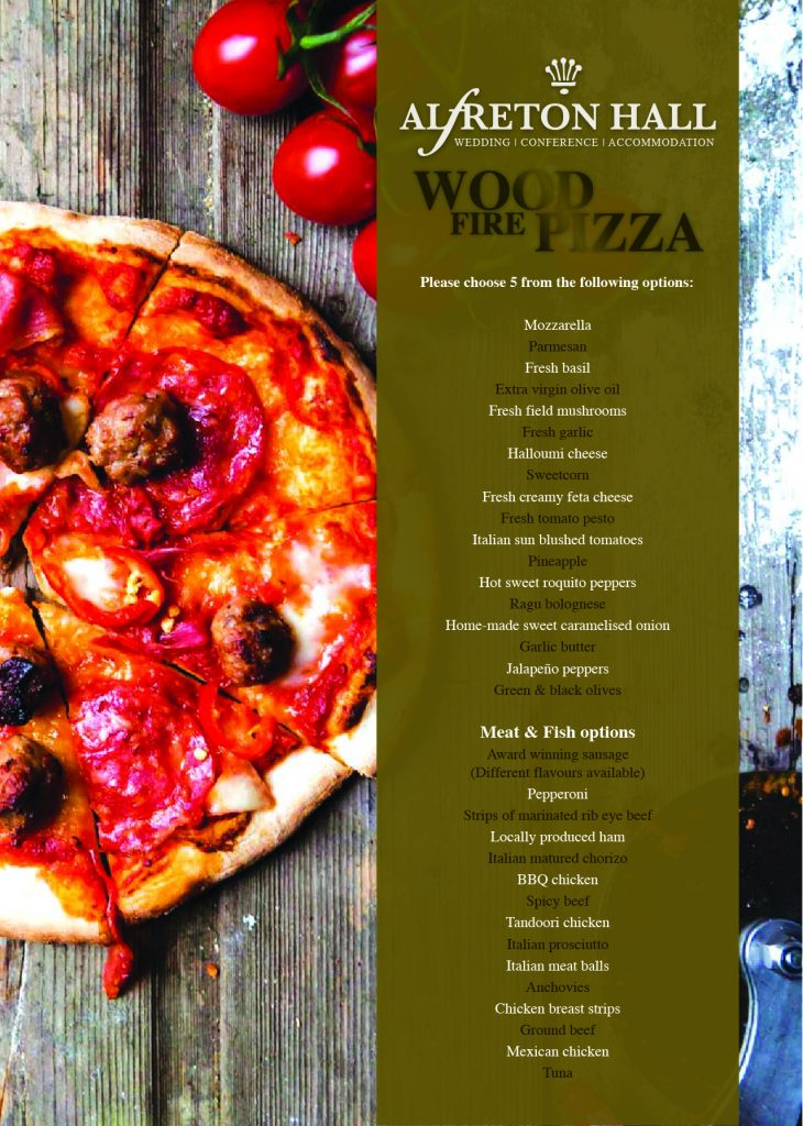 Alfreton Hall Wood Fire Pizza Poster-01